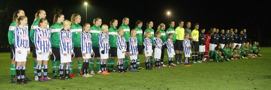 Heerenveense Boys Vrouwen 1 - sc Heerenveen Vrouwen 1 (23-11-2012)