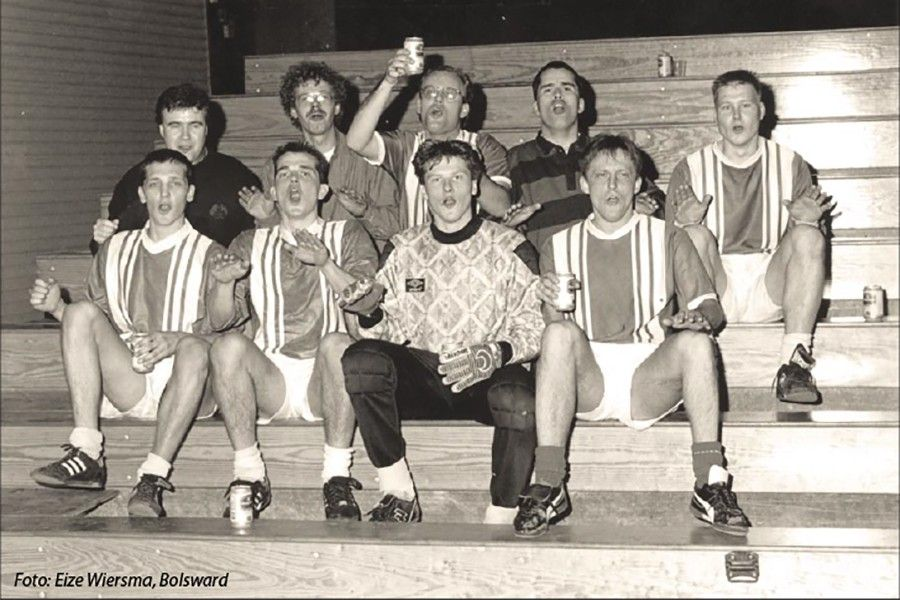 Zaalteam Heerenveense Boys Fries kampioen (OFK 1993)
