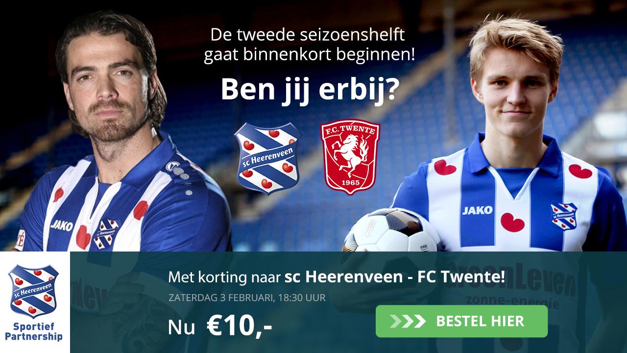 Sc Heerenveen - FC Twente (03-02-20018)