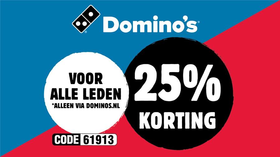 Domino's ledenactie Heerenveense Boys