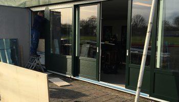 Renovatie kantine Heerenveense Boys (30-01-2018)