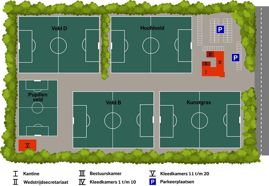 Sportpark 'de Akkers' Heerenveense Boys