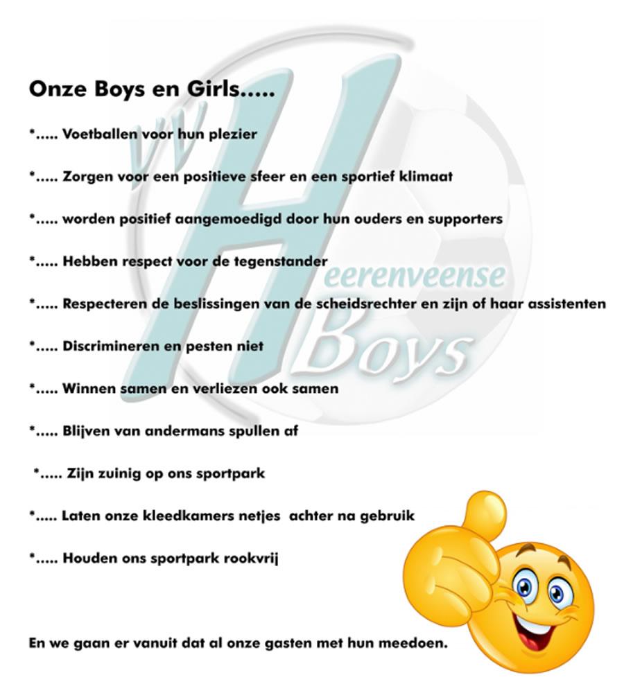 Gedragsregels Heerenveense Boys (concept)