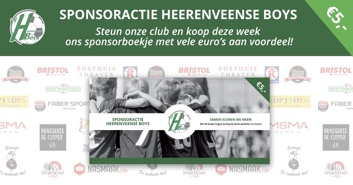 Sponsoractie Heerenveense Boys