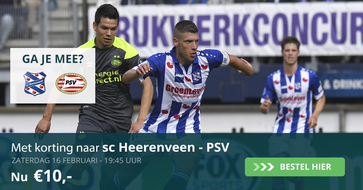 Sc Heerenveen - PSV (16-02-2019)