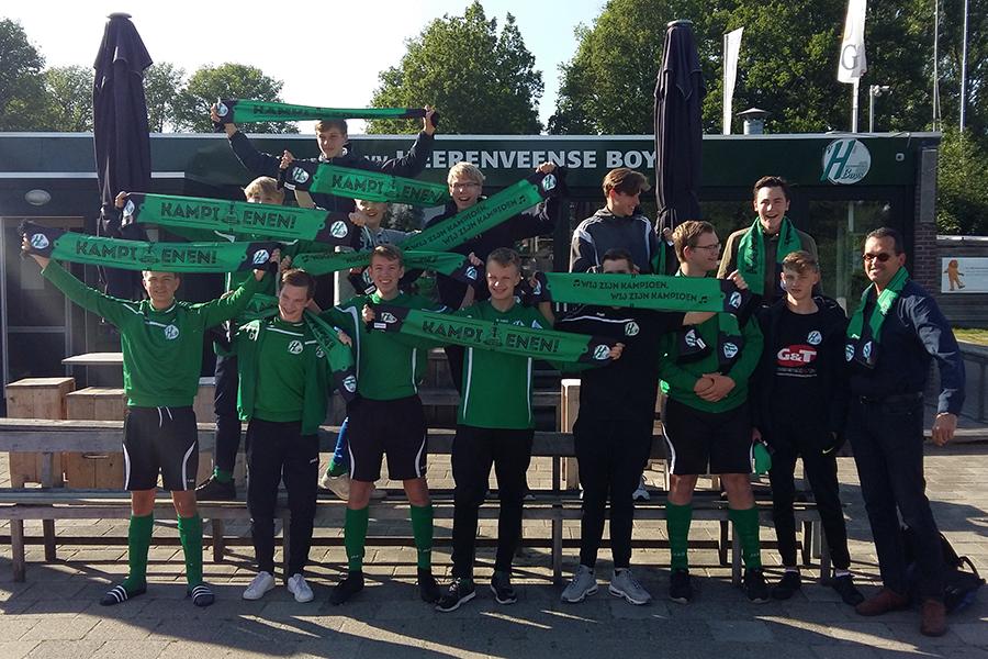 Heerenveense Boys JO17-3 kampioen 2018-2019