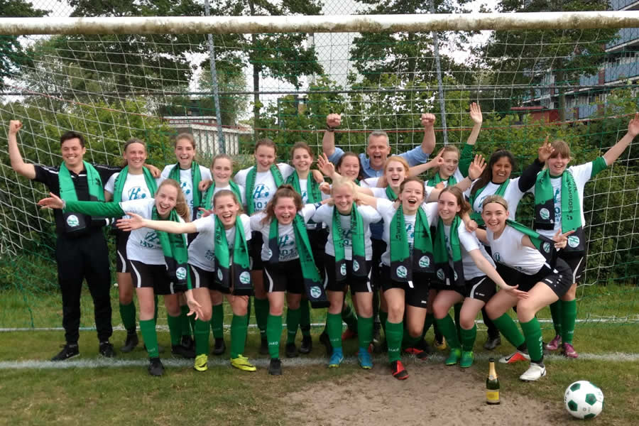Heerenveense Boys MO19-1 kampioen 2018-2019
